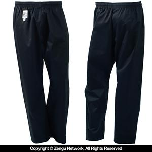 Lightweight Black Karate Pants